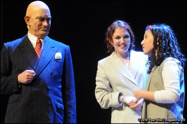 Israel Musicals Annie Warbucks and Grace