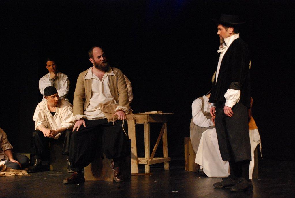 Israel Musicals Man of La Mancha Cervantes