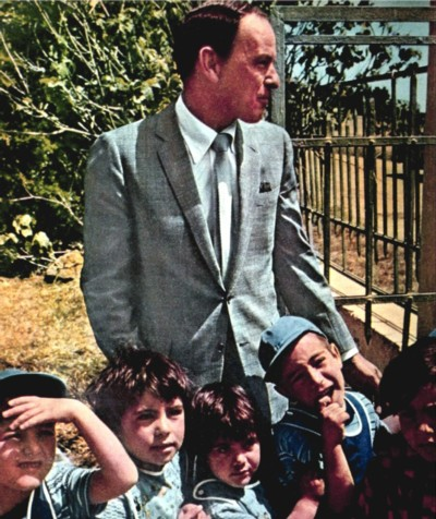 Sinatra with Israeli Children